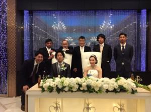 菊知結婚式